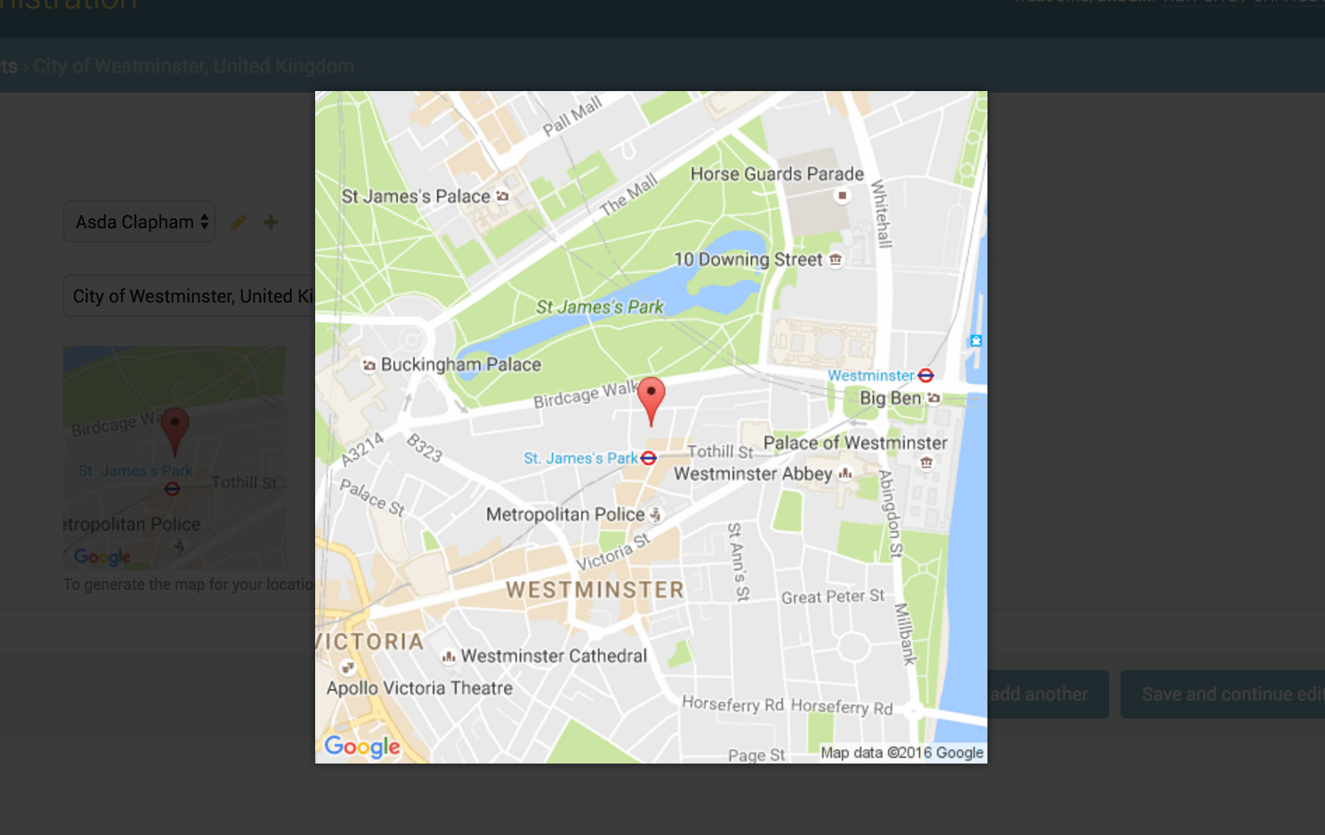 Google Map Static Overlay Widget — Django Map Widgets 0 1 9